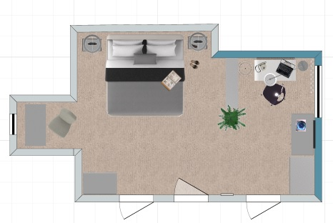 loft master bedroom floor plan