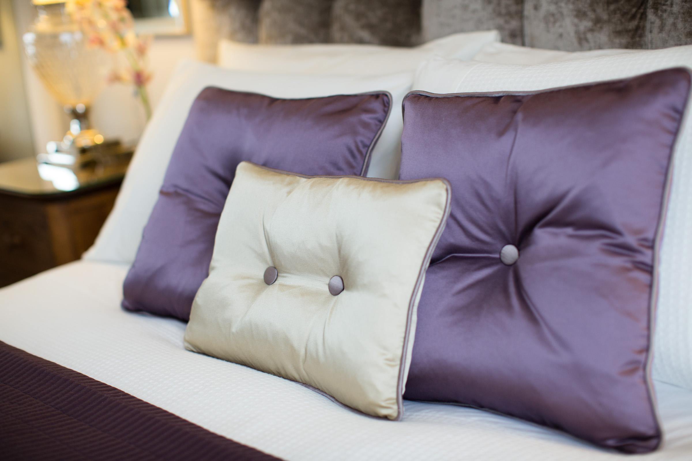 handmade silk cushions